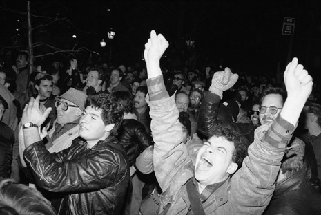 Gay Rights Bill Celebration 1986