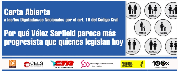 Banner para la Carta Abierta Art 19 A4
