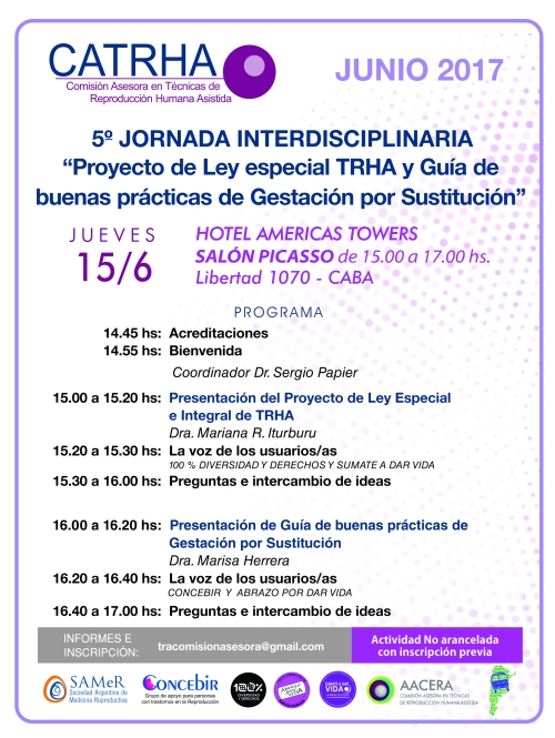 5ta. Jornada CATRHA 30-5-2017