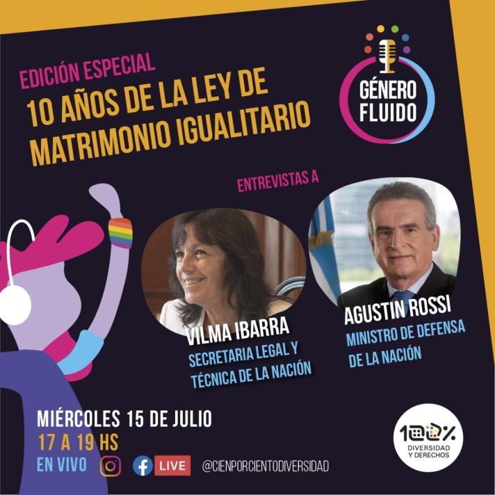 10 Vilma Ibarra y Agustin Rossi